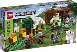 Lego Minecraft Аванпост разбойников застава рейдеров 21159