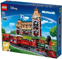 Lego Disney Поезд и вокзал Лего Дисней 71044