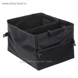 Органайзер складной в багажник, с передвижной перегородкой, 40х30х25 см Сиг