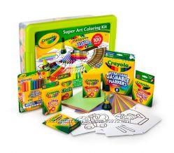 Большие наборы Crayola Super Art Coloring Kit