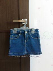 Джинсовые юбки zara на 7-8лет и IDO на 10лет