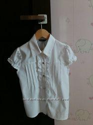 Школьные белые блузки Original marines на 8 и 10 лет