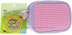Сумка клатч  розовый - Upixel