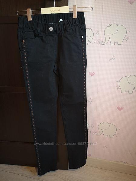 Черные джинсы на S. Oliver 140 см