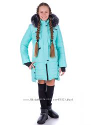Зимнее пальто Глория ТМ Angeli. R  В наличии