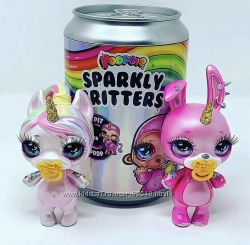 Poopsie sparkly, единорожки в банках. Оригинал в наличии