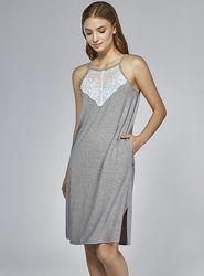 Рубашка ночная женская. Ночнушка. Ночная сорочка. Платье. Ellen 282