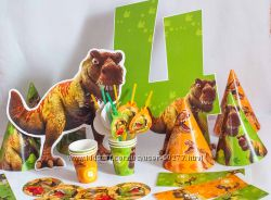 День Рождения в стиле  --  Динозавры --