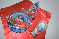 Набор для детского дня рождения  Тачки .