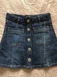 Юбка джинсовая, Mangp, рост 140см