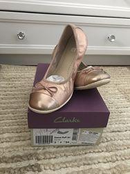 Туфли, для девочки, р. 34, Clarks