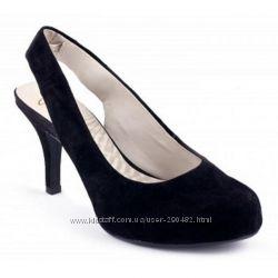 Новые замшевые туфли Кларкс, Clarks  р. 36
