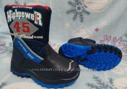 Теплющие сапоги ботинки дутики сноубутсы