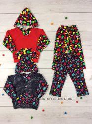 Яркие тепленькие костюмы для деток