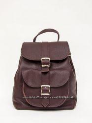Рюкзак с натуральной кожи