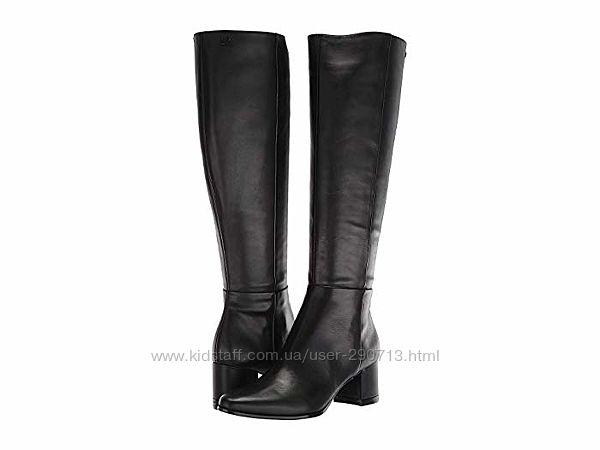Новые роскошные кожаные сапоги Calvin Klein&reg Freeda