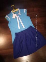 нарядная блузка в школу или офис