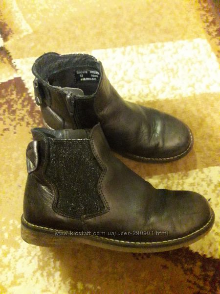фирменные ботиночки кожа