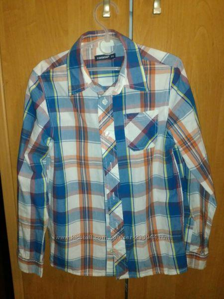 Рубашка  In Extenso на мальчика 9-10 лет.
