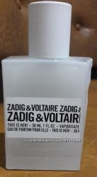 Парфюм 30 мл, Zadig & Voltaire This is her