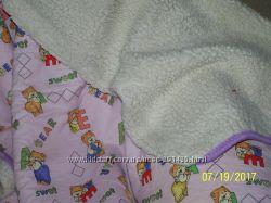 Одеяло детское, двухстороннее, 2 шт
