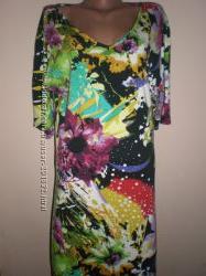 красивое  платье  из  натурального  материала  размер   50-52