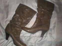 40 - 26 см  кожаные  сапожки ф.  Roberto Santi