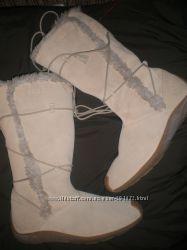 41 -  27 см  замшевые  сапожки  ф.   Aigle