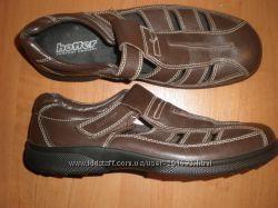 43 - 29. 5 см кожаные  сандалии  ф. Hotter- England