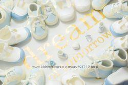 Детские пинетки для новорожденных Madilux Италия 16-19 рр