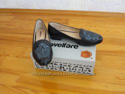 Черные туфли Welfare на низком ходу