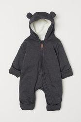 Трикотажный комбинезон для ребенка на теплой подкладкеот H&M
