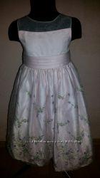 Нарядное платье на выпускной 5-6 лет