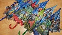 Детский зонт на 5-10 лет Трансформеры Щенячий патруль Лол Ниндзя
