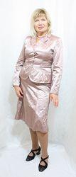 Эффектный нарядный костюм NELVA , р.48. Распродажа