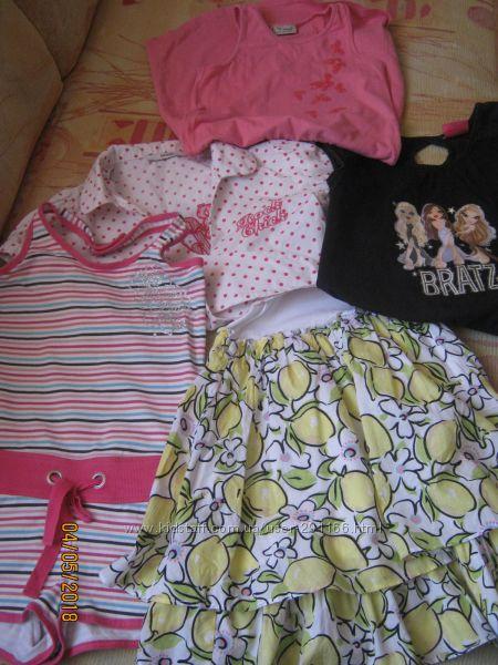 Фирменные вещи на девочку 6-8 лет