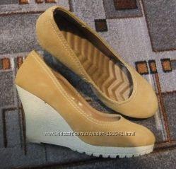 Классные туфли из искусственной замши 41 р