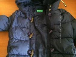 Куртка евро- зима , Benetton, М, 9-10