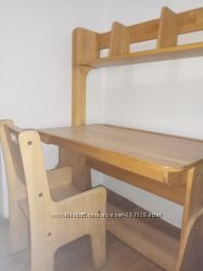 Комплект мебели-растишки Школярик бу стол, надстройка, стул