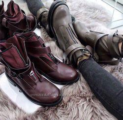 Крутые ботинки зима, деми