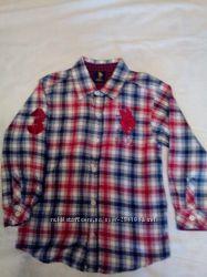 Рубашка фланель 5-6 лет