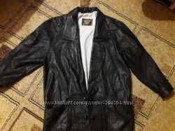 Кожаная куртка 50-52р