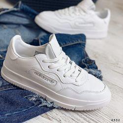 Удобнейшие кросы Adidas. Реплика. Натуральная кожа