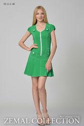Новый зеленый сарафан