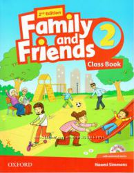 Family and Friends 2 , Оригинал, Workbook and Classbook