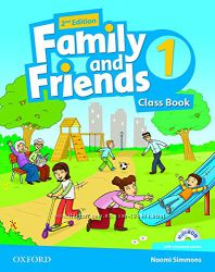 Family and Friends 1, Оригинал, Workbook and Classbook