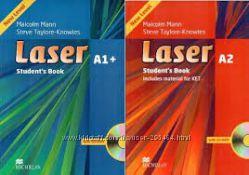 Английский Laser учебник, тетрадь, Оригинал