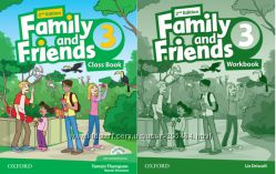 Оригинал Family and Friends 3 Workbook and Classbook