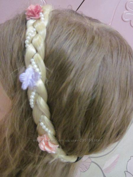Коса накладная на резинке