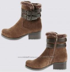 Замшевые ботинки M&S